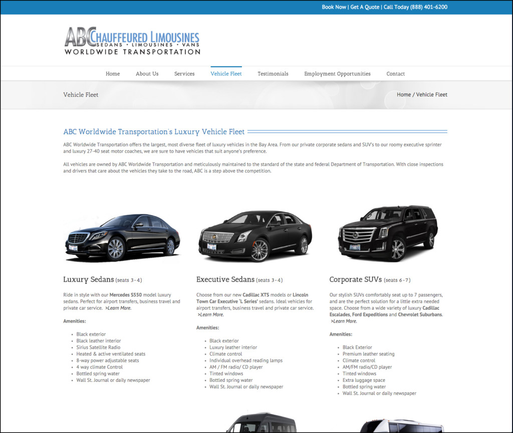 ABC Worldwide Transportation Fleet