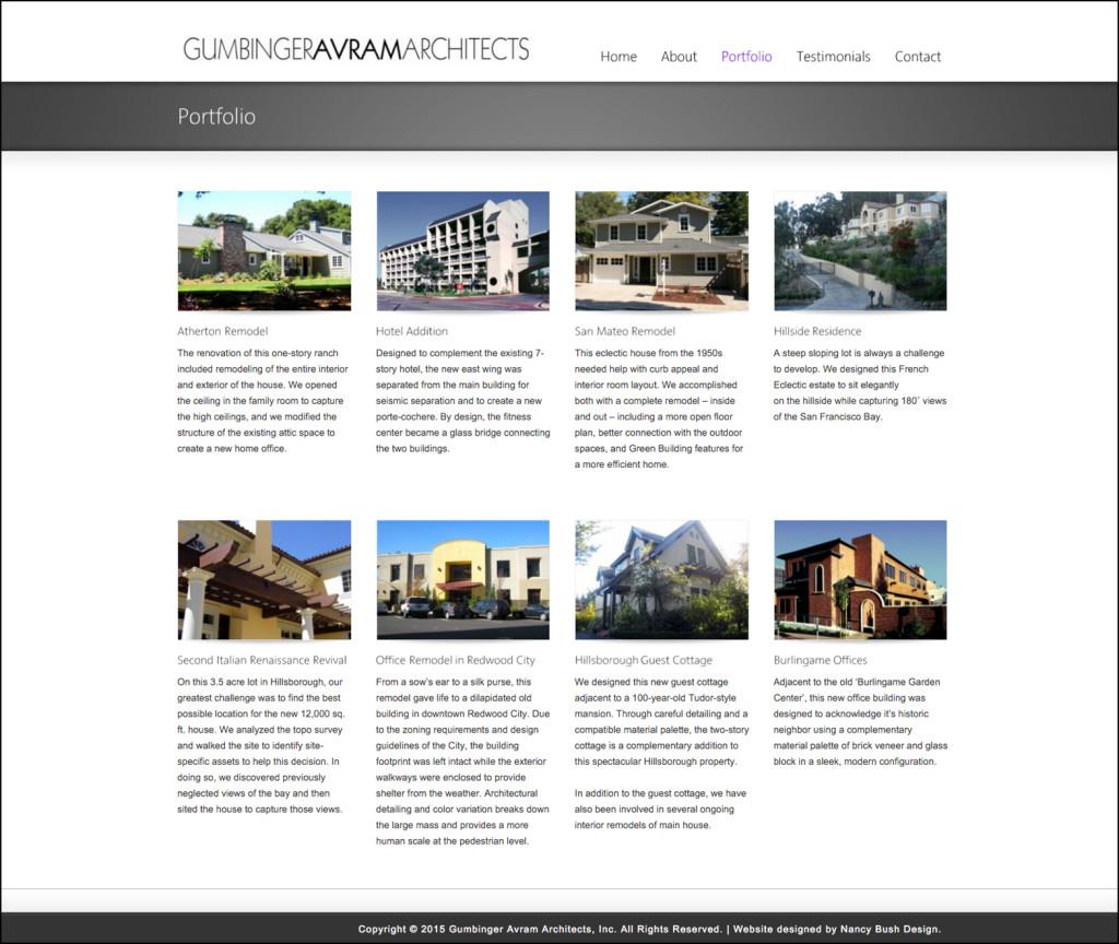 Gumbinger Avram Architects Portfolio