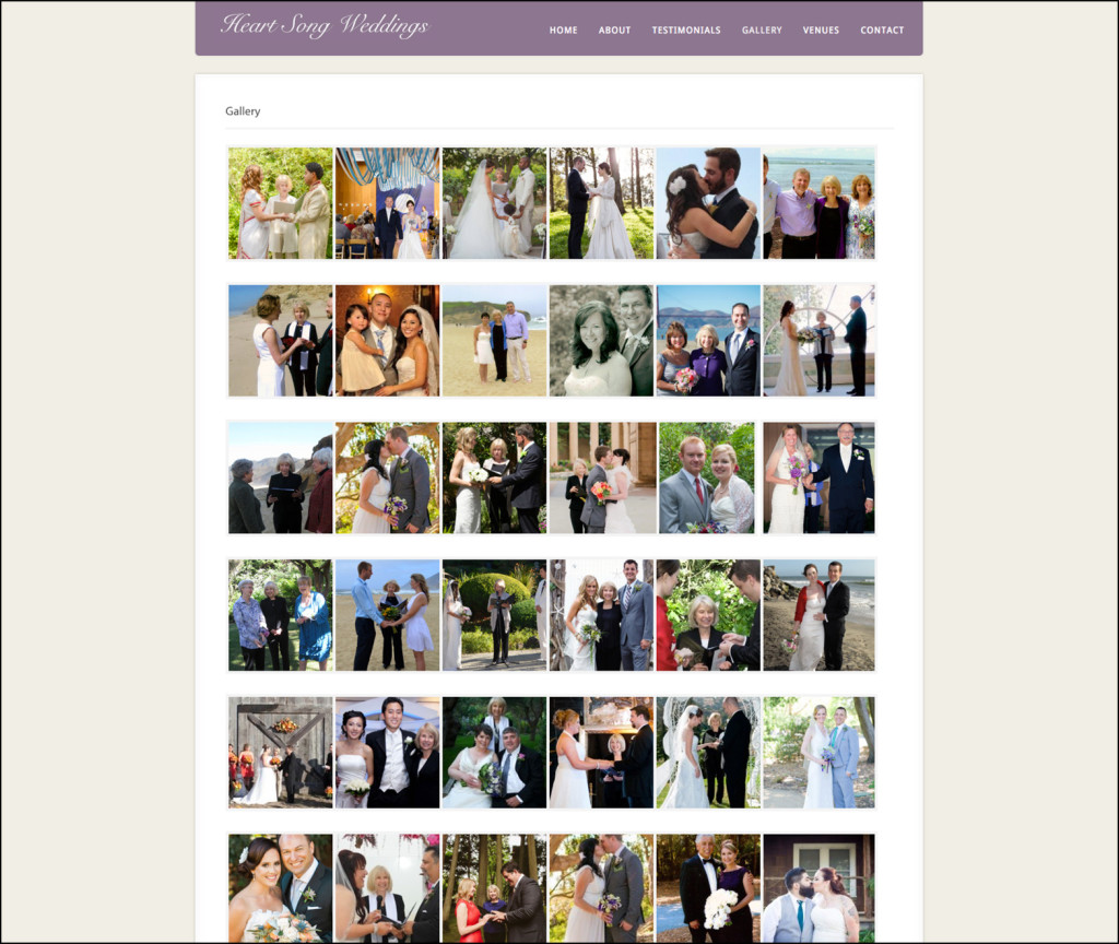 Heart Song Weddings Photo Gallery