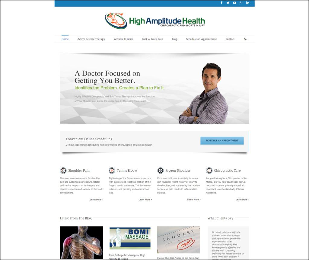 High Amplitude Health