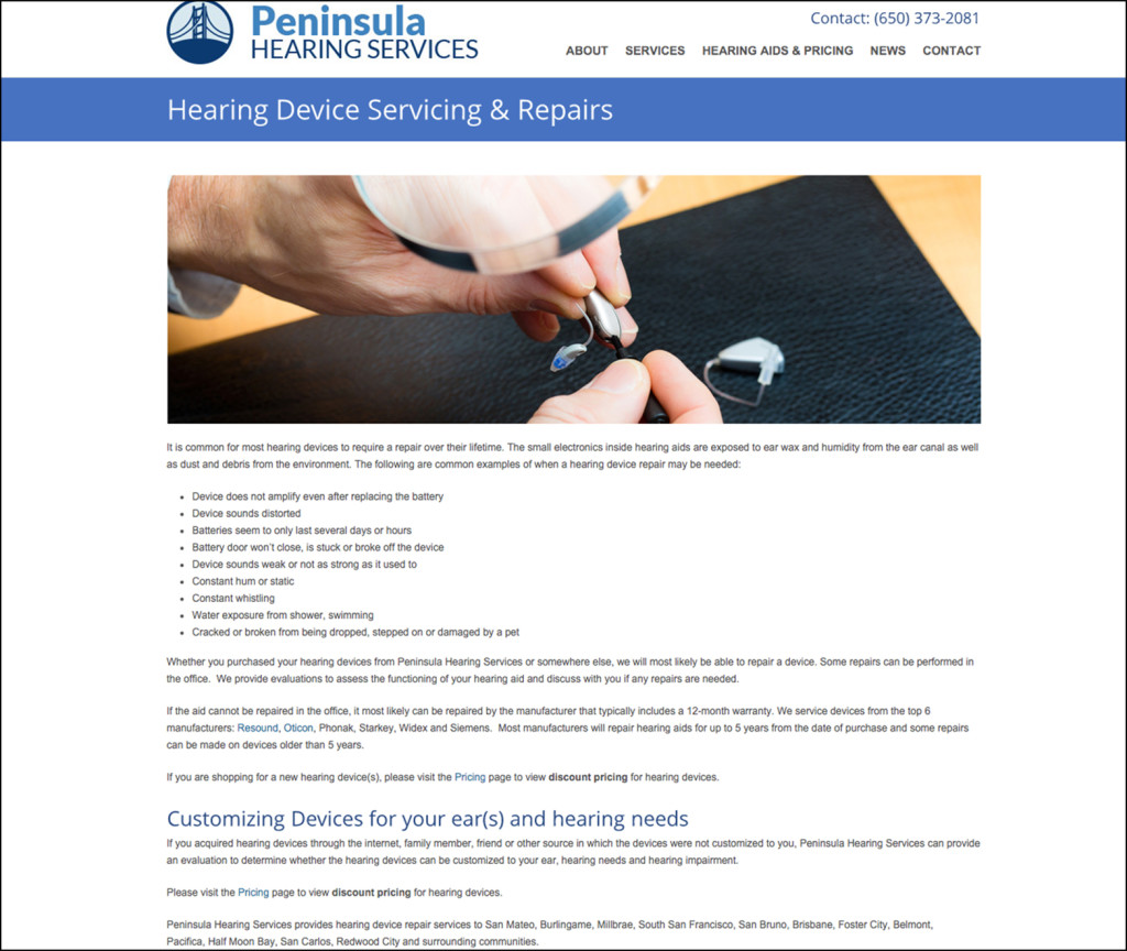 Peninsula Hearing Services